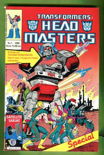 Transformers-spesiaali 1/88 - Headmasters