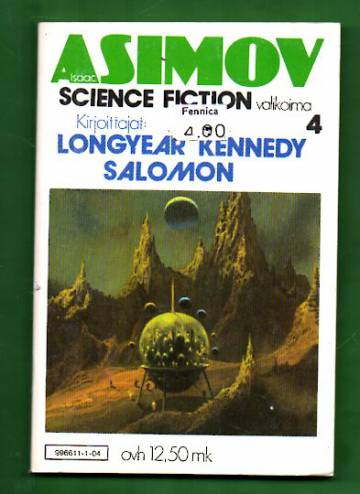 Isaac Asimovin Science Fiction -valikoima 4