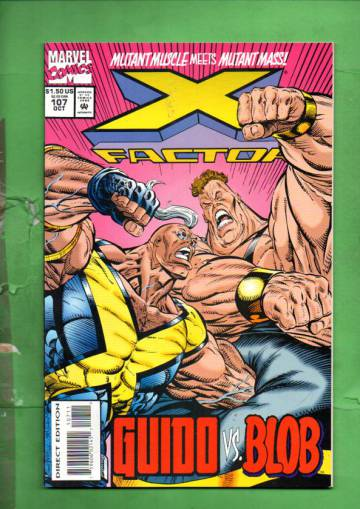 X-Factor Vol. 1 #107 Oct 94