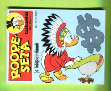 Roope-setä-taskulehti 12A/83 - Roope-setä ja kääpiöintiaanit (näköispainos)