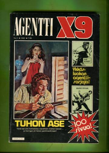 Agentti X9 1/82