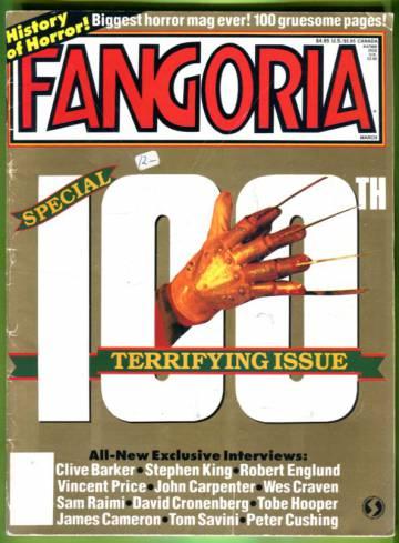 Fangoria #100 Mar 91