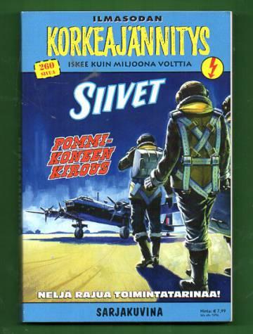 Korkeajännitys 3E/14 - Siivet: Ilmasodan Korkeajännitys - Pommikoneen kirous