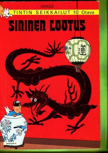 Tintin seikkailut 10 - Sininen lootus