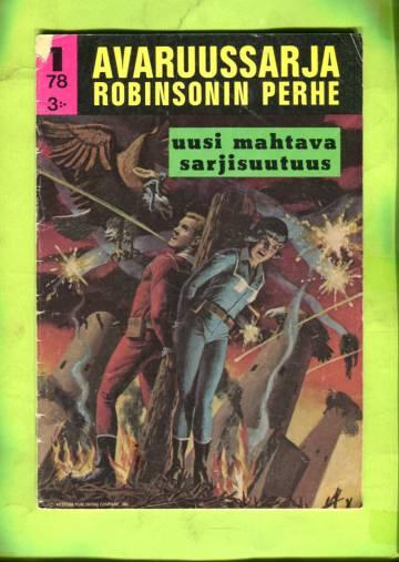 Avaruussarja - Robinsonin perhe 1/78