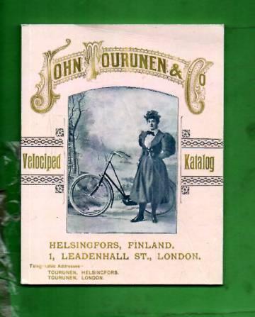 John Tourunen & Co - Finsk velociped katalog 1895 / Suomalainen polkupyöräluettelo 1895