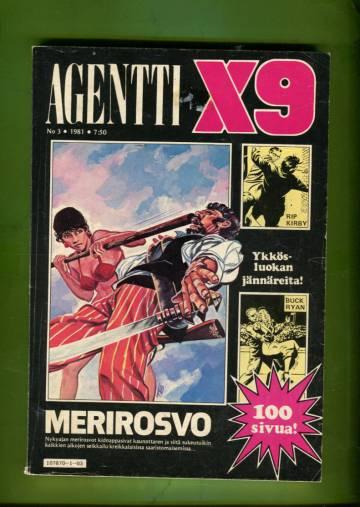 Agentti X9 3/81 (Modesty Blaise)