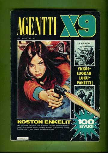 Agentti X9 2/81