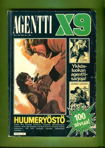 Agentti X9 4/81
