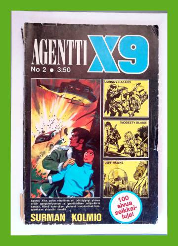 Agentti X9 2/74