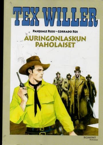Tex Willer -suuralbumi 30 - Auringonlaskun paholaiset