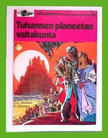 Valerian, avaruusagentti 2 - Tuhannen planeetan valtakunta