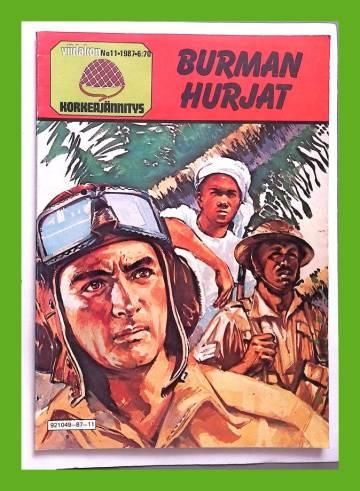 Viidakon korkeajännitys 11/87 - Burman hurjat