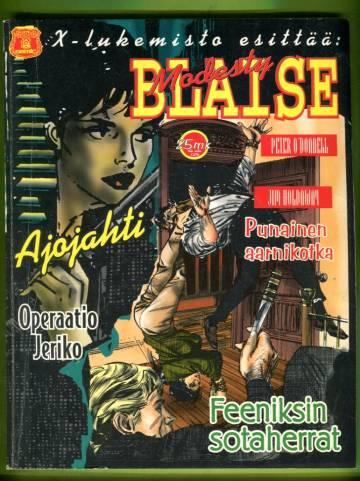 X-lukemisto esittää 4/96 - Modesty Blaise