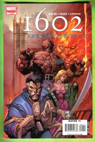 Marvel 1602: Fantastic Four #1 Nov 05