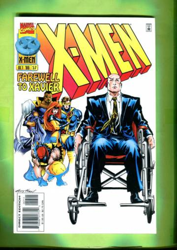 X-Men Vol 1 #57 Oct 96