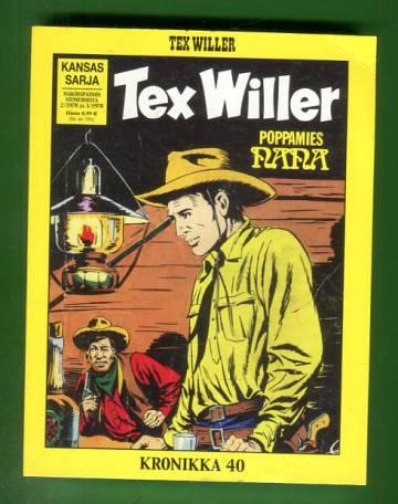 Tex Willer -kronikka 40 - Pidättäkää Tex Willer! & Poppamies Nana