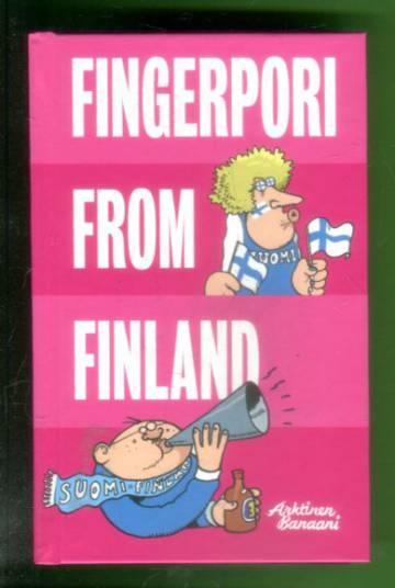 VARASTOTYHJENNYS Fingerpori from Finland
