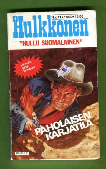 Hulkkonen 11/85 - Paholaisen karjatila