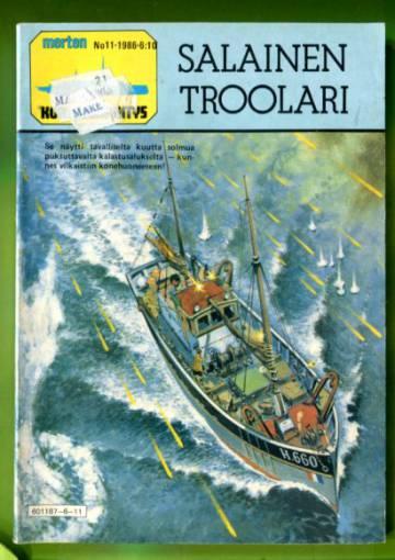 Merten Korkeajännitys 11/86 - Salainen troolari