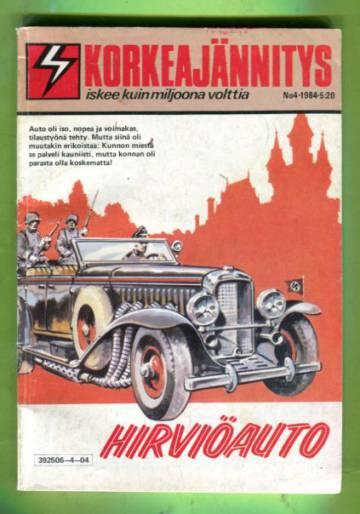 Korkeajännitys 4/84 - Hirviöauto