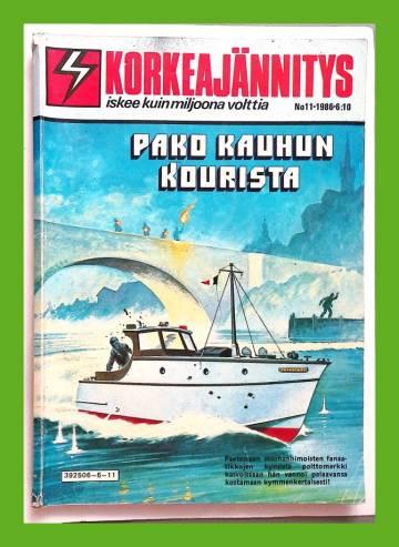 Korkeajännitys 11/86 - Pako kauhun kourista