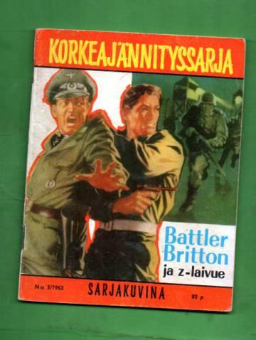 Korkeajännityssarja 5/63 - Battler Britton ja z-laivue