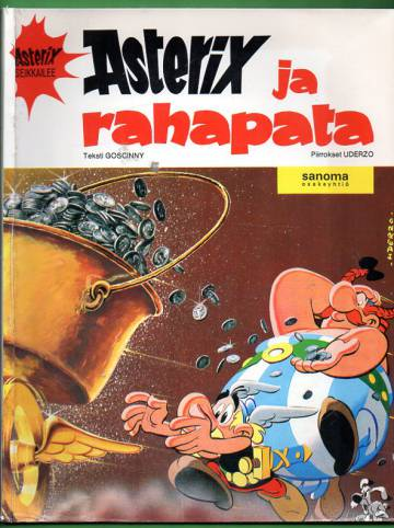 Asterix 9 - Asterix ja rahapata (1. painos)