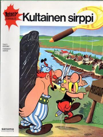 Asterix 10 - Kultainen sirppi (1. painos)