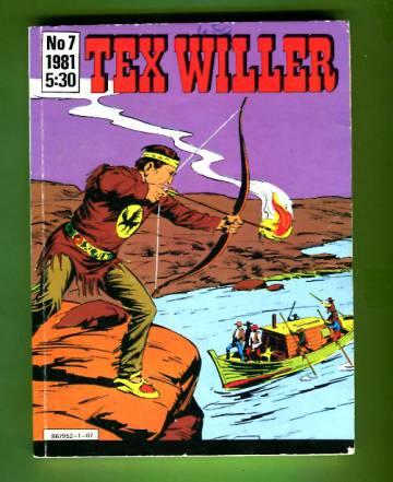 Tex Willer 7/81