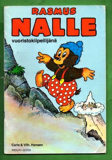 Rasmus Nalle vuoristokiipeilijänä