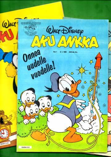 Aku Ankka 1985 vuosikerta (1-52/85)