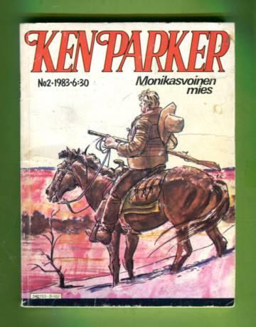 Ken Parker 2/83 - Monikasvoinen mies