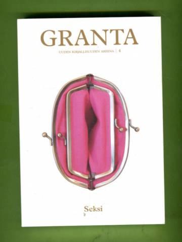 Granta - Uuden kirjallisuuden areena 4: Seksi