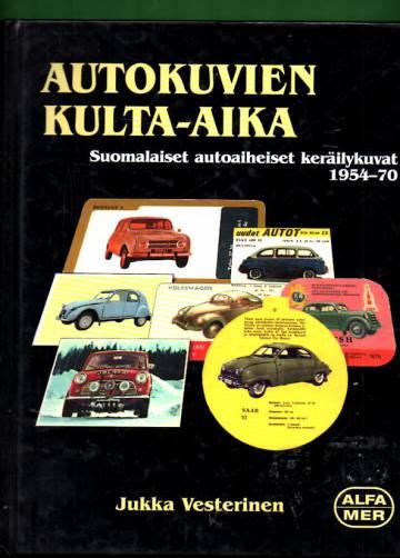 Autokuvien kulta-aika - Suomalaiset autoaiheiset keräilykuvat 1954-70