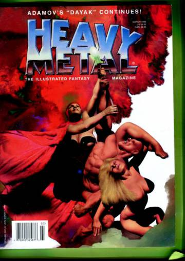 Heavy Metal Vol. 20 #1 Mar 96