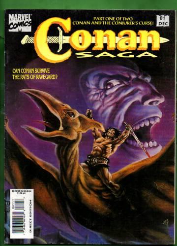 Conan Saga Vol. 1 #81 Dec 93