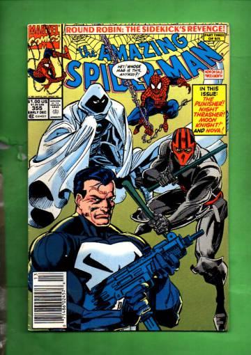 The Amazing Spider-Man Vol.1 #355 Ear Dec 91