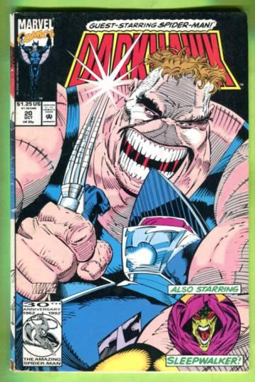 Darkhawk Vol 1 #20 Oct 92