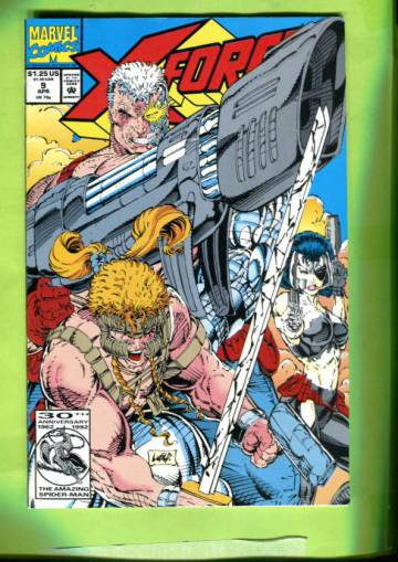X-Force Vol 1 #9 Apr 92