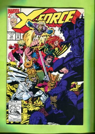 X-Force Vol 1 #14 Sep 92