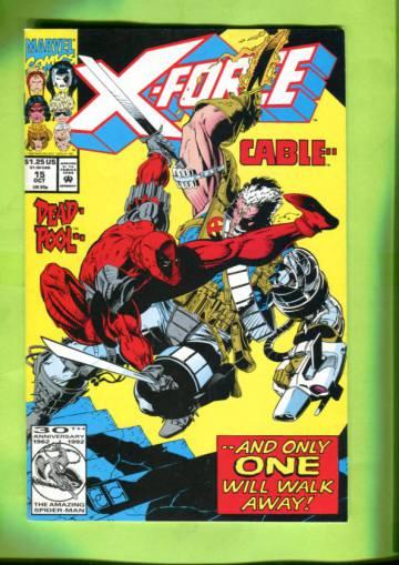X-Force Vol 1 #15 Oct 92