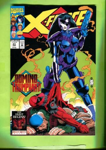X-Force Vol 1 #23 Jun 93