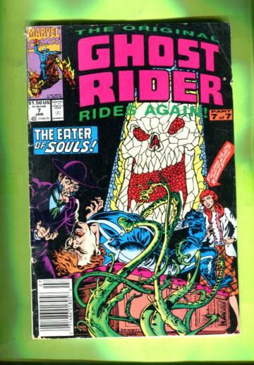 The Original Ghost Rider #7 Jan 91