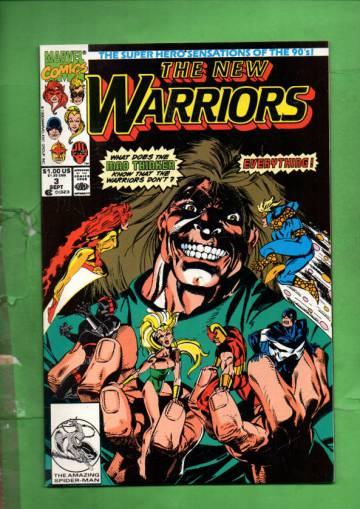 The New Warriors Vol. 1 #3 Sep 90