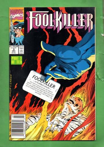 Foolkiller Vol. 1 #3 Dec 90