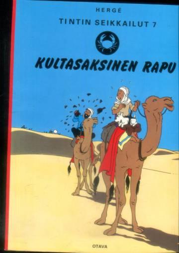 Tintin seikkailut 7 - Kultasaksinen rapu (Tintti)
