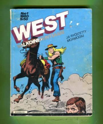 West - Valkoinen intiaani 1/80 - West ja ryöstetty mormooni