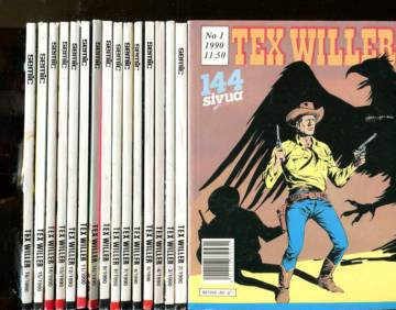 Tex Willer - vuosikerta 1990 (1-16)