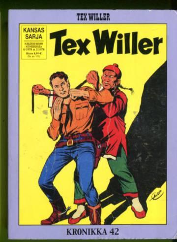 Tex Willer -kronikka 42 - Dakotat & Kiinalaiskortteli